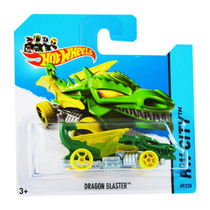 Hot Wheels Dragon Blaster Verde 69/250 Hw City