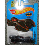 Hot Wheels Batman Batimovil Tim Burton 2015 Rojo