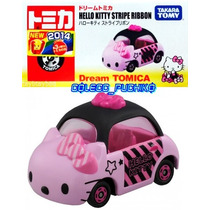 Tomica Hello Kitty Carrito Metalico Japones Takara 1/59 Rosa