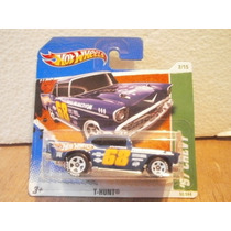 Hot Wheels T Hunt 57 Chevy Azul 52/244 2011 Tc
