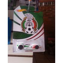 Hotwheels Scoopa Di Fuego Seleccion Mexicana Brasil 2014