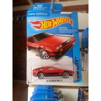 Hotwheels Delorean Rojo Y Toyota Supra De Coleccion