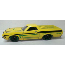 Hot Wheels Carro 72 Ford Ranchero Amarillo1034/250