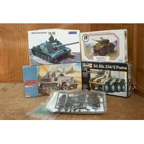Lee Anunc X Lote 5 Modelos Militares Esc 1/72 & 1/76