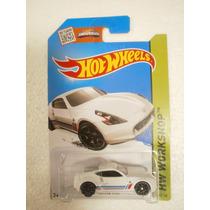 Hot Wheels Nissan 370z Blanco 248/250 2015