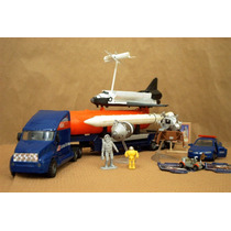 Lee Anuncio X Transbordador Atlantis Lote 7 Miniaturas Nasa