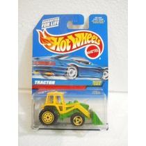 Hot Wheels Tractor Amarillo/verde Collector #145