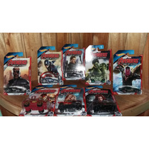 Vengadores Avengers Marvel Hot Wheels 8 Piezas Set 2015