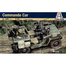 Tanque Italeri Jeep Commando Car 1/35 Armar Pinta /no Revell