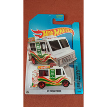 Ice Cream Pizza Truck Hot Wheels Die Cast 1/64