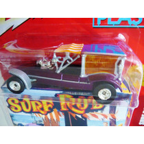 Johnny Lightning Surf Rod Koach Surf Hearse George Barri