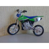 Bonita Motocross A Escala Coleccionable