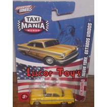 Taxi Mania Mundo Nueva York Estados Unidos Lcatoy79