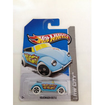 Hot Wheels Volkswagen Beetle (azul 40/250)