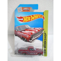 Hot Wheels Camioneta 65 Ford Ranchero Rosa 212/250 2015