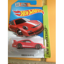 Hot Wheels Porsche 911 Gt3 Rs (rojo) 2015