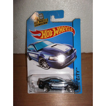 Hot Wheels 1999 Ford Mustang Azul 96/250 2014