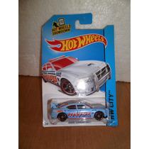 Hot Wheels Patrulla Dodge Charger Drift Azul 48/250 2014