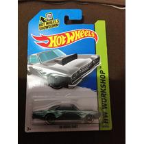 Hot Wheels 68 Dodge Dart Gris Con Llamas Azules