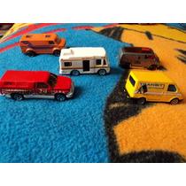Fan Autos 1/64 Set 5pzas Ford Transit Y Otros F92