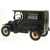 Motormax 1/24 Ford Modelo T 1917 Black Cocacola Diecast