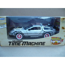 Volver Al Futuro 3 Delorean Dmc 1985 Esc: 1/24 Welly Bttf