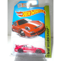 Hot Wheels Porsche 911 Gt3 Rs Rojo 196/250 2015