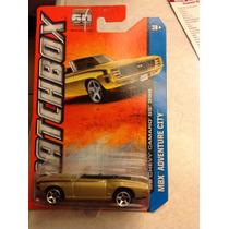 Matchbox 69 Chevy Camaro Ss 396