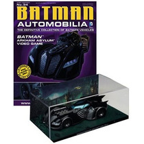 Dc Batman Batmobile 1/43 Escala Batimobil Eaglemoss Publ Vv4
