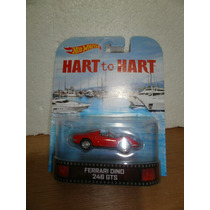 Hot Wheels Retro Hart To Hart Ferrari Dino 246 Gts Rojo 1:64