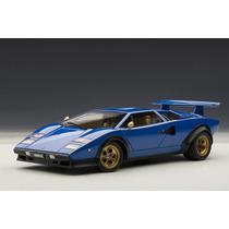 Lamborghini Countach Auto A Escala De Colección