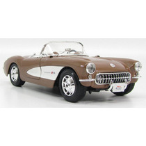 1957 Chevrolet Corvette Auto Escala 1/18 Maisto