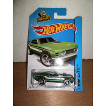 Hot Wheels 70 Ford Mustang Mach 1 Verde 97/250 2014 1:64