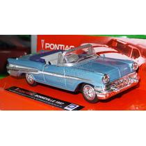 1:43 Pontiac Bonneville 1957 Azul New Ray City Cruiser