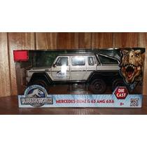 Jurassic World Mundo Jurasico Mercedes Benz G63 Amg 6x6 1/24