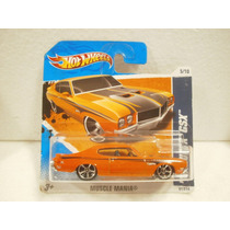 Hot Wheels 70 Buick Gsx Naranja 91/214 2010 Tc