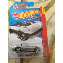 Ñu* Hot Wheels Corvette Grand Sport Roadster Fast & Furious