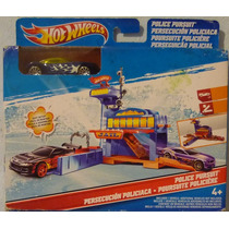 Hot Wheels Persecucion Policiaca Playset ¡¡¡remate!!!