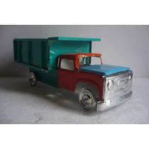 Camion De Volteo - Camioncito De Lamina - Juguete Artesania