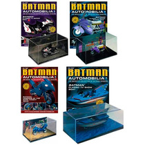 Dc Batman Batmobile 1/43 Escala Batimobil Moto Bote Auto Vv4