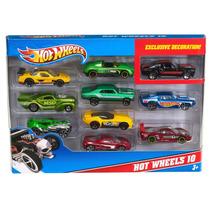 Tb Hot Wheels 10 Car Pack (styles May Vary)
