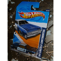 Patrulla 64 Lincoln Continental Hot Wheels Main 2012 170 Blu