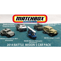 Matchbox 5 Pack Battle Mission, Militares Ejercito 2014