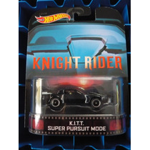 Hotwheels Retro Kitt Super Pursuit Mode Knight Rider