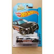 Patrulla Dodge Charger Drift Hot Wheels Die Cast 1/64