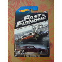 69 Dodge Charger Daytona Hotwheels Rapido Y Furioso