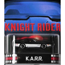 Hotwheels Serie Retro Karr Knight Rider Llantas De Goma