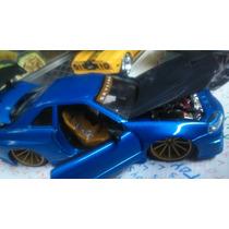 Nissan Skyline Gtr Azul Jada Toys 1:24 Super Detallado