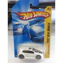 Hot Wheels Vw Golf New Models Blanco Año 2007 De Coleccion