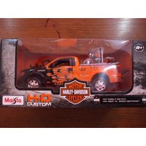 Maisto Hd Custom 1/27 Ford F-150 Stx & 1/24 2007 Xl1200n